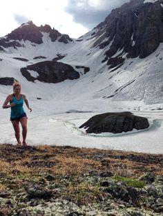 A precious run to Island Lake...#roadtohardrock Anna Frost #TrailRunning #SkyRunning