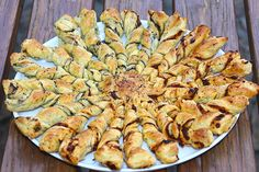 Feuilleté apéritif soleil http://jackie-cuisine.over-blog.com