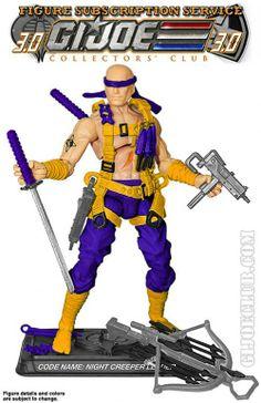 G.I. Joe Collectors' Club Figure Subscription Service 3.0 Night Creeper Leader Revealed http://www.toyhypeusa.com/2014/06/04/g-i-joe-collectors-club-figure-subscription-service-3-0-night-creeper-leader-revealed/