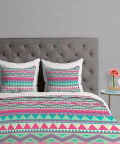 39aa7edb86c9 Love this Pastel Mesa Duvet Cover by DENY Designs on  zulily!  zulilyfinds  Grey