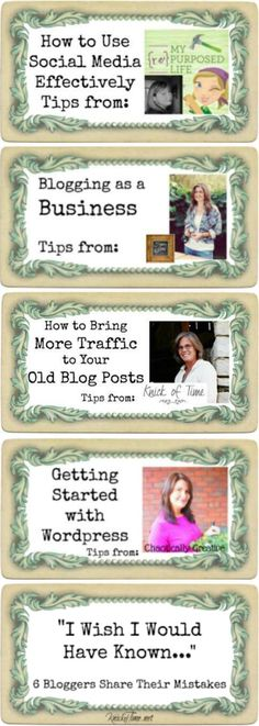 Blogging with the Pros Blog Tips series at KnickofTime.net