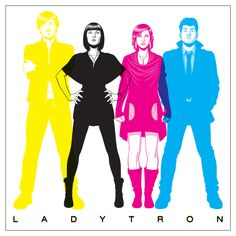 McKelvie draws Ladytron.