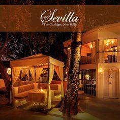 Every night at Sevilla is special! #TheClaridgesNewDelhi