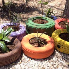 Buena idea de reciclaje, Parque La Ceiba.