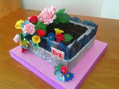 Tartas Personalizadas de Camelia                 : Tarta Jardinera con Flores