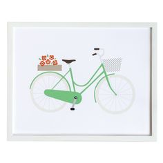 Bicycle Paris Collection Art Print