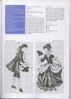 Gallery.ru / Фото #16 - 349 - Yra3raza lord lady cross stitch point de croix