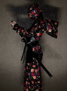 ♀ Ethic chic Asian Japanese inspired fashion Fashion photography