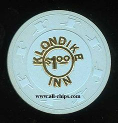 #LasVegasCasinjoChip of the Day is a $1 Klondike Inn 1st issue you can get here https://www.all-chips.com/ChipDetail.php?ChipID=18358 #CasinoChip #LasVegas