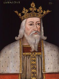 Vita Edoardo III re d'Inghilterra, figlio di Edoardo II ed Isabella di Francia. Salì al trono nel 1327. Sconfisse i francesi a Crècy durante la guerra dei 100 anni.