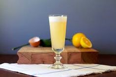 The brightness of fresh Meyer lemon readily combines with the citrus undertones of elderflower liqueur - a truly delicate, dessert-like libation. Citrus Vodka, Lemon Syrup, Liqueur, Elderflower, Lemon Recipes, Drink Recipes, Signature Cocktail, Non Alcoholic, Alcoholic Beverages