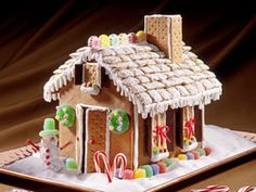 How to Make a Gingerbread House - Comes complete with an assembly guide!