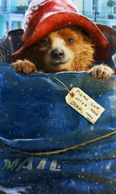 Paddington bear, London