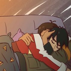 I LOVE the way lance is holding keith