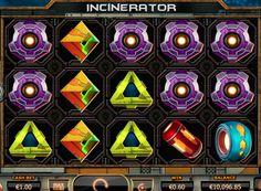 Играть в автоматы на реальные деньги - Incinerator.  Игровой автомат Incinerator на деньги выполнен в фантастической тематике разработчиками из компании Yggdrasil и способен принести крупный выигрыш.