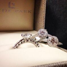 Beautiful @ritani engagement rings! http://www.hydeparkjewelers.com/Ritani-Rings/746/dept