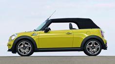 Photo One Cabrio MINI concept. Specification and photo MINI One Cabrio. Auto models Photos, and Specs Mini Coper, Best City Car, New Mini Cooper, Mini Driver, Mini Cooper Convertible, Thing 1, Fancy Cars, Mini Things, Small Cars