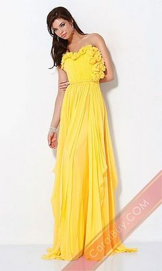 Prom? maybe a different color... not a huge fan of this yellow... 2 bright