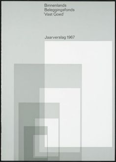 Wim Crouwel - Dutch Investment Fund Annual Report, 1967