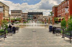 Harmony Square in downtown Brantford,Ont. Real Estate Search, Best Cities, Savannah Chat, Ontario, Places Ive Been, Tiny House, The Good Place, The Neighbourhood, Canada