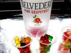 Drunken Vodka Gummy Bear Shots - Cookbook Community