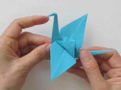 Fold an Origami Crane, Tutorial