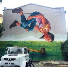 Work of Fintan Magee in Kiev, Ukraine