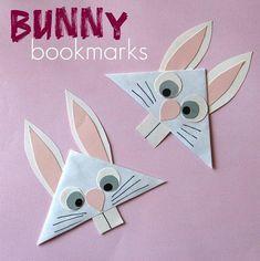 Diy Bookmarks : DIY Bunny Bookmark