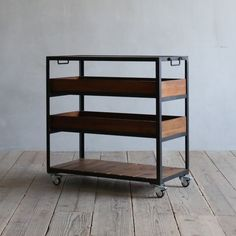 Tea Cart, Office Organization, Vintage Metal, Home Projects, Home Kitchens, Coffee Shop, Diy And Crafts, Bookcase, Iron
