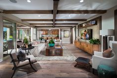 Cortesa in @ranchomv by Shea Homes So Cal Plan 4: Great Room