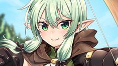 Elfa, Goblin Slayer Meme, Hulk, Anime Elf, Knight Shield, Girl Elf, Image Fun, Estilo Anime, Another Anime