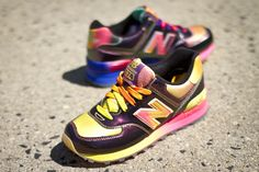 "#NewBalance 574 ""Rainbow Pack"""