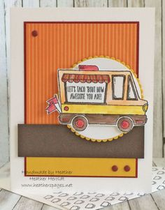 earn this free Food Cart stamp set during Sale-a-brations