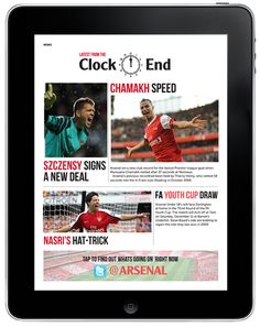 Gunners (iPad app) by Josh Farley, via Behance