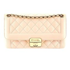 Chanel Light Beige Quilted Leather Bag #wallis #dress