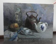 Original Oil Painting Still life by OilOxOil on Etsy, $155.00
