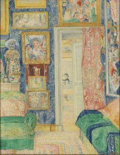 James Ensor - Interieur van de kunstenaar