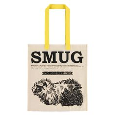 SMUG Double Sided Cotton Tote
