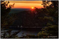 Sunset over the Baraboo Range - Devil's Lake State Park - www.DevilsLakeWisconsin.com