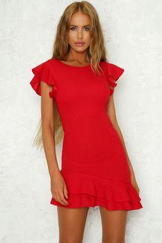 460755266488 Long Lost Love Dress Red Long Lost Love, Transparent Heels, Junior Prom  Dresses,