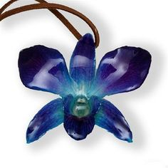 real flower jewelry, orchid jewelry,