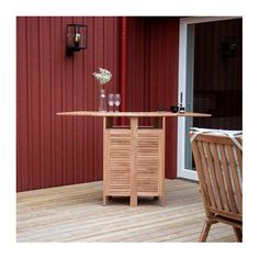 Havebar i teak træ Bruges, Storage, Furniture, Home Decor, Purse Storage, Store, Interior Design, Home Interior Design, Storage Room