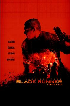 Blade Runner Poster. Movie Poster Art, Film Posters, Fiction Movies, Science Fiction, Blade Runner Poster, Indiana Jones Films, Tv Movie, Blade Runner 2049, Sci Fi Films