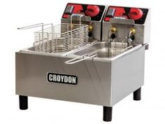 Fritadeira 3 Litros Inox Cesto Removível - Croydon Quente Elétrica FC2A?2
