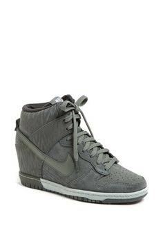 Nike 'Dunk Sky Hi' Wedge Sneaker (Women) available at #Nordstrom. On my wish list...and about to arrive any day.