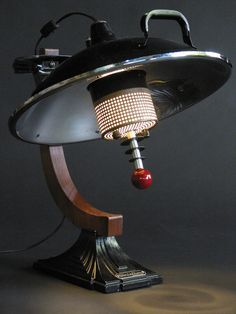 Art Deco Death Ray Lamp. (Mood Light)