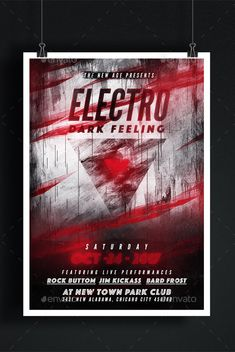 Electro Flyer Template PSD. Download here: https://graphicriver.net/item/electro-flyer-template/17414091?ref=ksioks