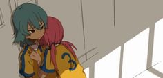 kirino x kariya Stray Dogs Anime, Inazuma Eleven Go, Powerpuff Girls, Anime Characters, Fangirl, Sun Garden, Cartoon, Manga, Drawings