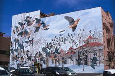 Martha, the Last Passenger Pigeon by John Ruthven, downtown Cincinnati