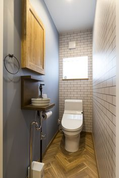 Home Room Design, House Design, Dado Rail, House Rooms, My House, Small Spaces, Toilet, New Homes, Flooring